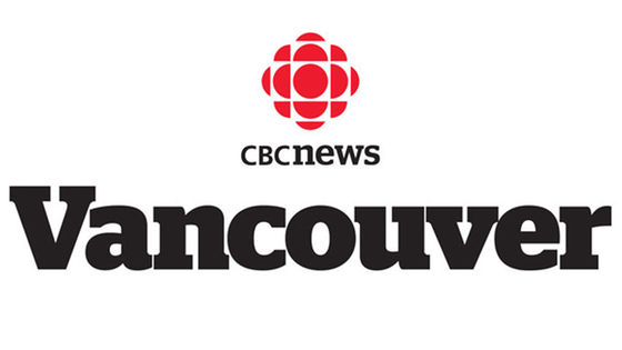 CBC vancouver logo for real estate film studio interview video